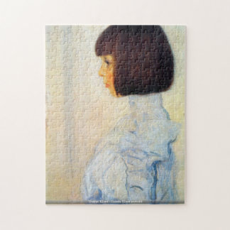 Gustav Klimt - Helene Klimt portrait puzzle