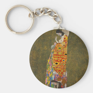 Gustav Klimt - Hope II - Beautiful Artwork Keychain