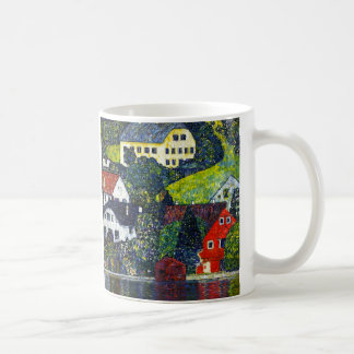 "Gustav Klimt, ""Houses at Unterach am Attensee"" Coffee Mug"
