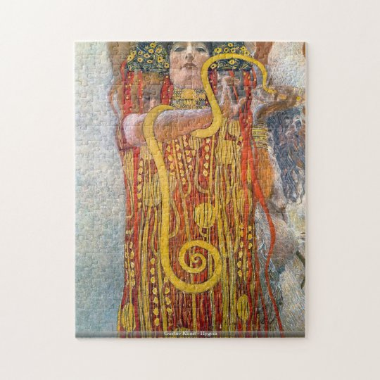 Gustav Klimt - Hygeia puzzle