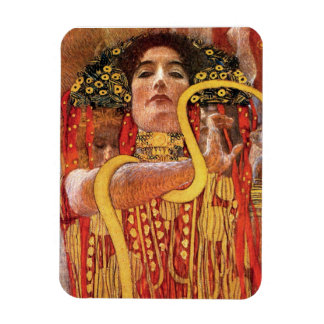Gustav Klimt - Hygieia Medicine Rectangular Photo Magnet