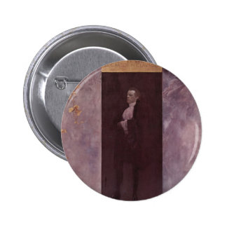 Gustav Klimt- Josef Lewinsky Pinback Button