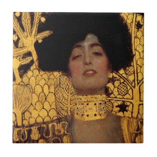 Gustav Klimt Judith And The Head Of Holofernes Tile
