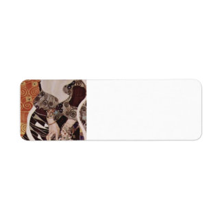 Gustav Klimt- Judith II (Salome) Return Address Label