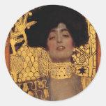 Gustav Klimt Judith Stickers