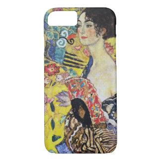 Gustav Klimt Lady with Fan iPhone 7 Case