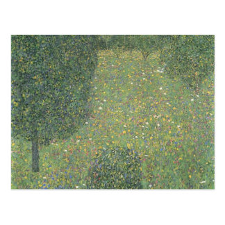 Gustav Klimt- Landscape Garden (Meadow in Flower) Postcard