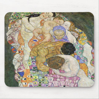 Gustav Klimt Life and Death Mouse Pad