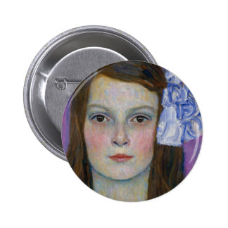 Gustav Klimt Mada Primavesi Button