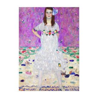 Gustav Klimt Mada Primavesi Canvas Print