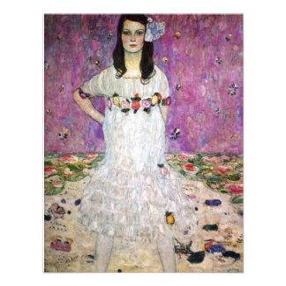 Gustav Klimt Mada Primavesi Invitations