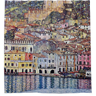 Gustav Klimt - Malcesine at Lake Garda Italy