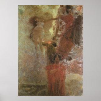 Gustav Klimt ~ Medicine Poster