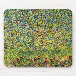 Gustav Klimt painting art nouveau The Apple Tree Mouse Pad