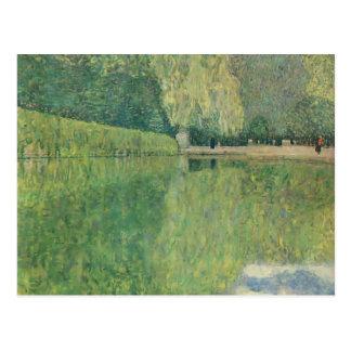 Gustav Klimt- Park of Schönbrunn Postcard