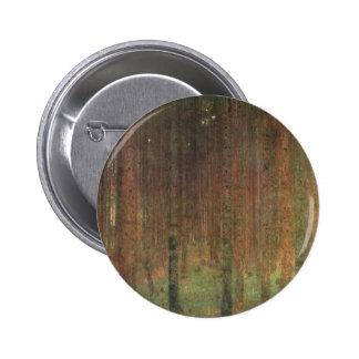 Gustav Klimt - Pine Forest 2 Inch Round Button