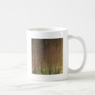 Gustav Klimt - Pine Forest Coffee Mug