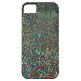 Gustav Klimt Poppy Field Case For The iPhone 5