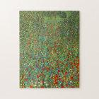 Gustav Klimt Poppy Field Puzzle