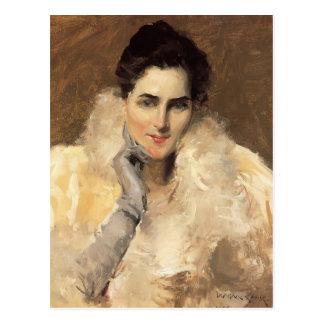 Gustav Klimt- Portrait of a Lady Postcard