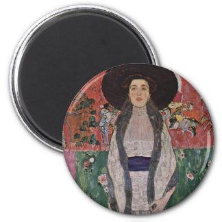 Gustav Klimt Portrait of Adele Bloch-Bauer II Refrigerator Magnets