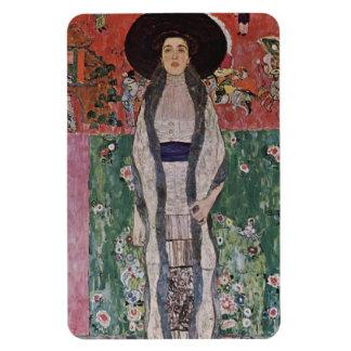 Gustav Klimt Portrait of Adele Bloch-Bauer II Rectangular Photo Magnet