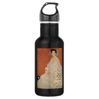 GUSTAV KLIMT - Portrait of Fritza Riedler 1906 532 Ml Water Bottle