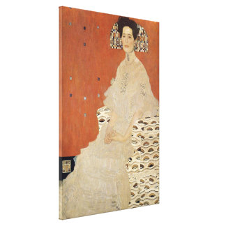 GUSTAV KLIMT - Portrait of Fritza Riedler 1906 Canvas Print