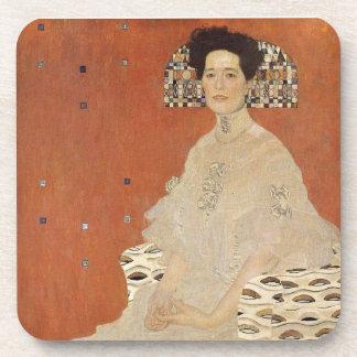 GUSTAV KLIMT - Portrait of Fritza Riedler 1906 Coaster