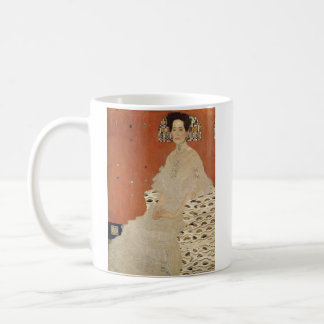 GUSTAV KLIMT - Portrait of Fritza Riedler 1906 Coffee Mug