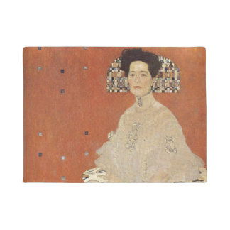 GUSTAV KLIMT - Portrait of Fritza Riedler 1906 Doormat