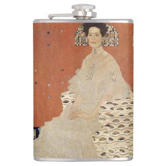 GUSTAV KLIMT - Portrait of Fritza Riedler 1906 Flask