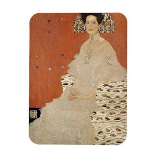 GUSTAV KLIMT - Portrait of Fritza Riedler 1906 Magnet