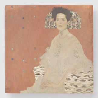 GUSTAV KLIMT - Portrait of Fritza Riedler 1906 Stone Coaster