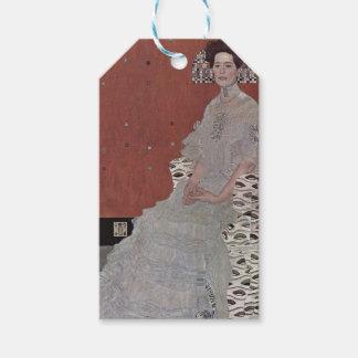 Gustav Klimt - Portrait of Fritza Riedler Gift Tags