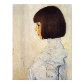 Gustav Klimt Portrait of Helene Klimt Invitations