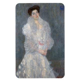 Gustav Klimt Portrait of Hermine Gallia Magnet