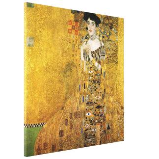 GUSTAV KLIMT - Portret van Adèle Bloch-Bauer 1907 Canvas Print