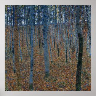 Gustav Klimt Poster ~ Beech Grove