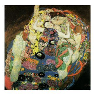Gustav Klimt Poster ~ The Maiden