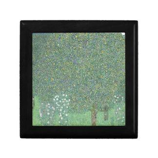 Gustav Klimt - Rosebushes under the Trees Artwork Gift Box