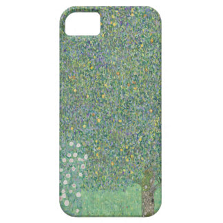 Gustav Klimt - Rosebushes under the Trees Artwork iPhone 5 Covers