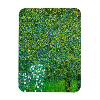 Gustav Klimt Roses Under The Pear Tree Magnet