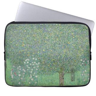 Gustav Klimt - rosiers sous les arbres Trousses Ordinateur