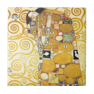 Gustav Klimt Sleeping Lady Ceramics Tile
