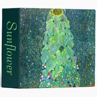 Gustav Klimt: Sunflower 3 Ring Binders