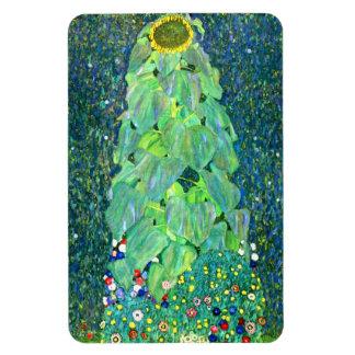 Gustav Klimt: Sunflower Rectangular Photo Magnet