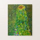 Gustav Klimt Sunflower Puzzle