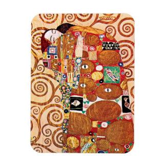 Gustav Klimt - The Embrace - Fine Art Painting Magnet