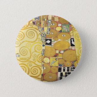 Gustav Klimt - The Hug - Classic Artwork 2 Inch Round Button
